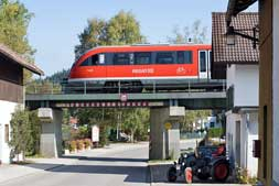 BR 642 in Nesselwang